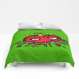 Smashed Tomato Comforters