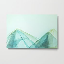 false mountains Metal Print