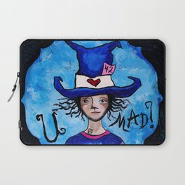 U Mad? Alice in Wonderland's Mad Hatter Laptop Sleeve