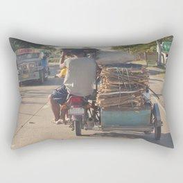 next stop: Manila... Rectangular Pillow