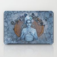 evil queen iPad Cases featuring Introducing the Evil Ice Queen by altimus pond