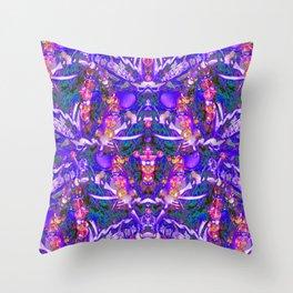 BrilliantPURPLE Bling Throw Pillow