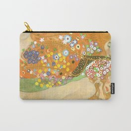 "Gustav Klimt ""Water Serpents"" Carry-All Pouch"