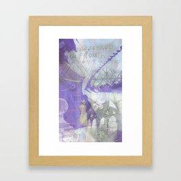 Memories of Salisbury Framed Art Print