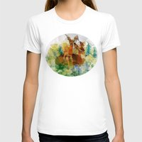 polygon T-shirts featuring Polygon Deer by Joseph Von Stengel