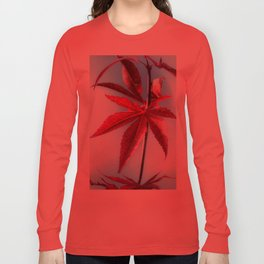 Red Leaves moments Long Sleeve T-shirt