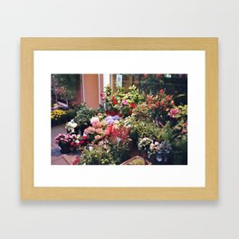 Flowers of Romance Framed Art Print
