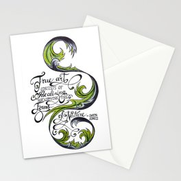 The Forms of Nature Stationery Cards