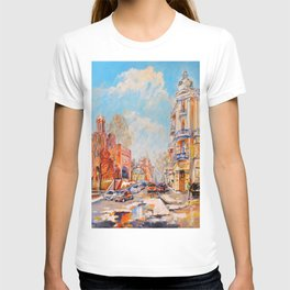 City of Kiev, Golden Gate. T-shirt