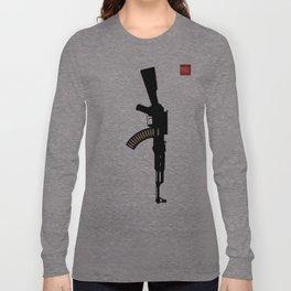 Art Not War - Yellow Long Sleeve T-shirt