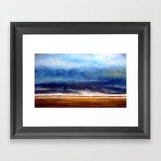 Storm On the Plains Framed Art Print