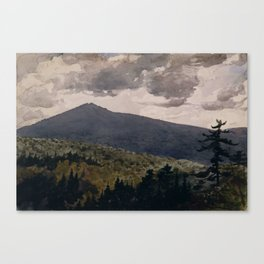 Burnt Mountain by Winslow Homer Canvas Print
