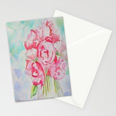 Fluers Fraiches Flower  Stationery Cards