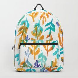 180726 Abstract Leaves Botanical 23|Botanical Illustrations Backpack