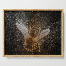 Bees Are Magic Serving Tray