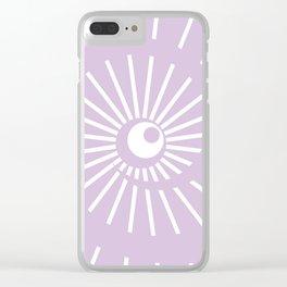 Sunshine / Sunbeam 6 Clear iPhone Case