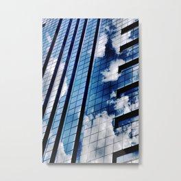 Cloud Vanity Metal Print