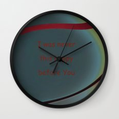 I was never Wall Clock