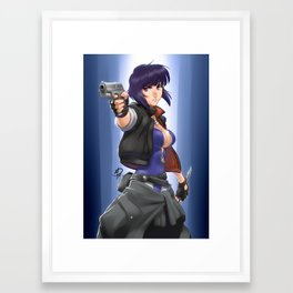 Major Framed Art Print