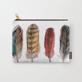 Country Feathers Carry-All Pouch