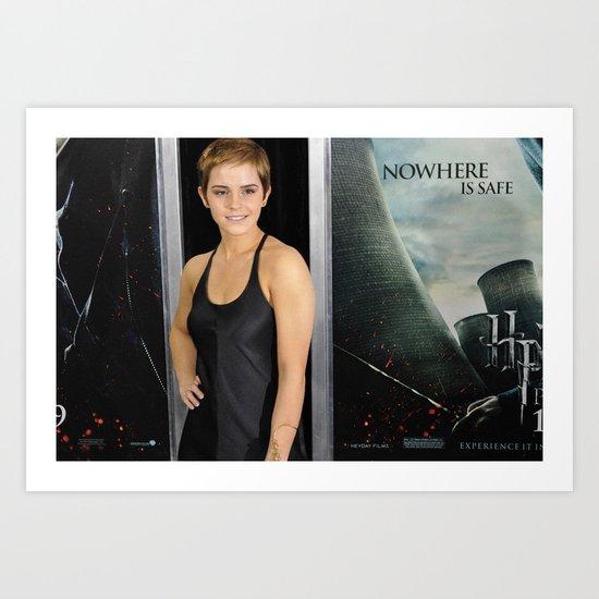 Emma Watson Art Print