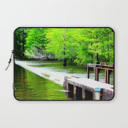 Lake Waccamaw Dam Laptop Sleeve