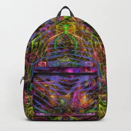 Florid Bedazzlement (abstract) Backpack