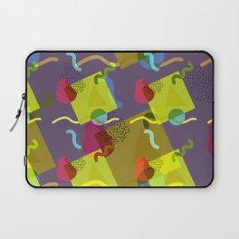 Neo Memphis Fun - Purple Laptop Sleeve
