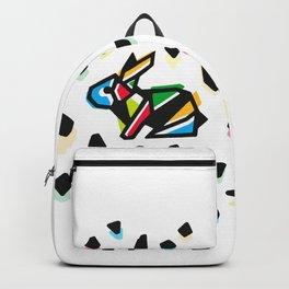 Rainbow Anigami Bunny Backpack