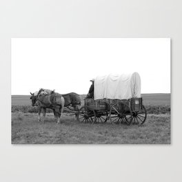 On the Wagon Canvas Print