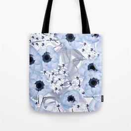 Flowery Tote Bag