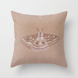 Tiger moth Throw Pillow