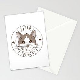 kikko the cat - Logo Stationery Cards