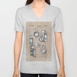 patent art Winslow Camera Accessories 1960 Unisex V-Neck