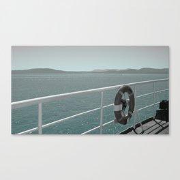 Anchored Canvas Print