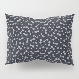I LOVE STRENGTH (Dark Background Option) Pillow Sham