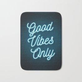 Good Vibes Only - Neon Bath Mat