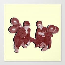 Yugyeom & Youngjae Canvas Print