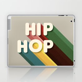 HIP HOP - typography Laptop & iPad Skin