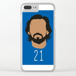 Andrea Pirlo Clear iPhone Case