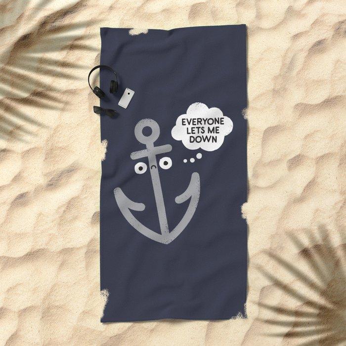 That Sinking Feeling Beach Towel
