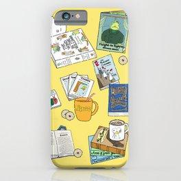 Children's books and Cocoa iPhone Case