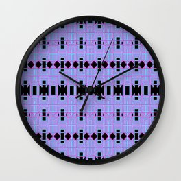 Optical 9 Wall Clock