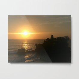 Sunset @ Bali Metal Print