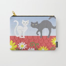 Cats on the roof Carry-All Pouch