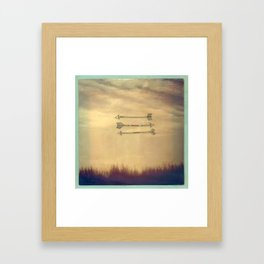 Wispy Way Framed Art Print