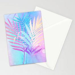 Tropical Breeze palm fronds Stationery Cards