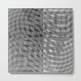 Crazy greylines 2 Metal Print