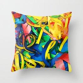 Serpentina Throw Pillow