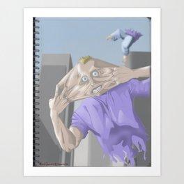 Stress! Art Print